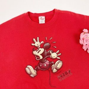Vintage Disney Oversized Mickey Mouse Sweater